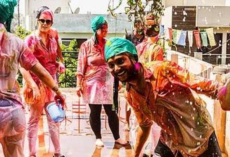 Фототур в Индию на праздник красок Холи