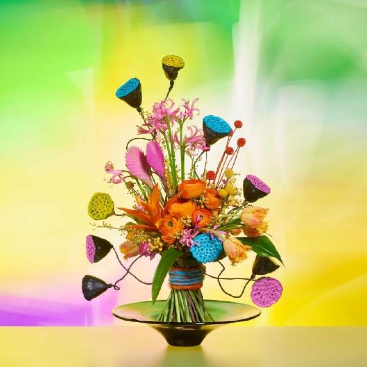 Онлайн мастер-класс «Как создать выразительную фотографию флористической композиции»