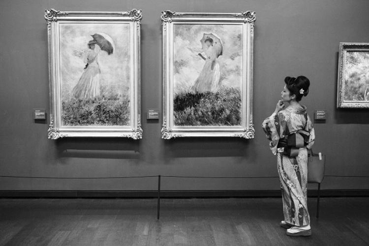 Выставка Жерара Юфера «Один день в музее»