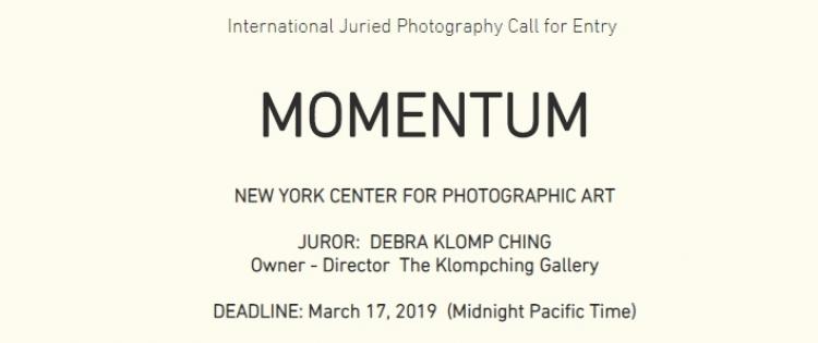 Фотоконкурс MOMENTUM 2018