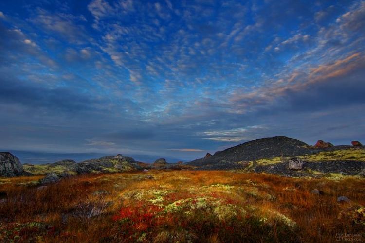 Фототур к поселку Териберка «Буйство красок осенней тундры»