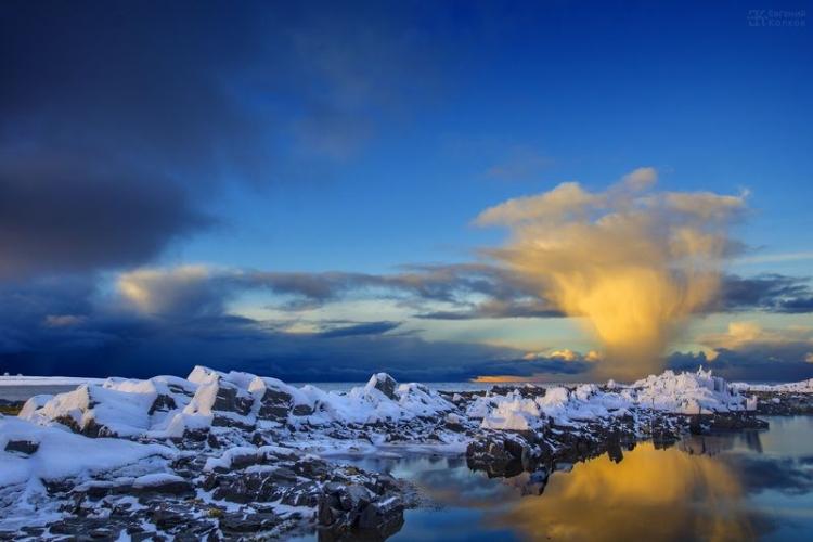 Фотоэкспедиция «Снег на прибрежных скалах» – к поселкам Териберка и Дальние Зеленцы