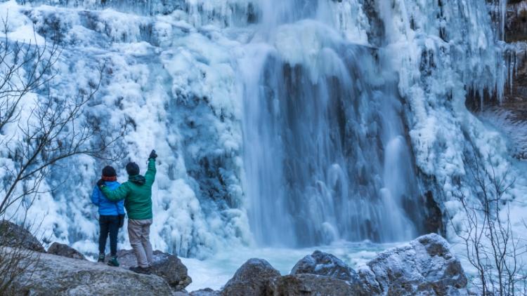 Фотоэкспедиция «Ледяной водопад» – к водопаду Большой Янискенгас