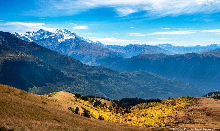 Гранд-тур по Грузии «Осенние краски»