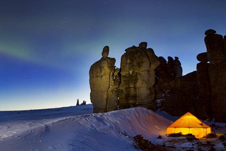 «Зимняя фотоэкспедиция в Гранитные города Улахан-Сис. Якутия»