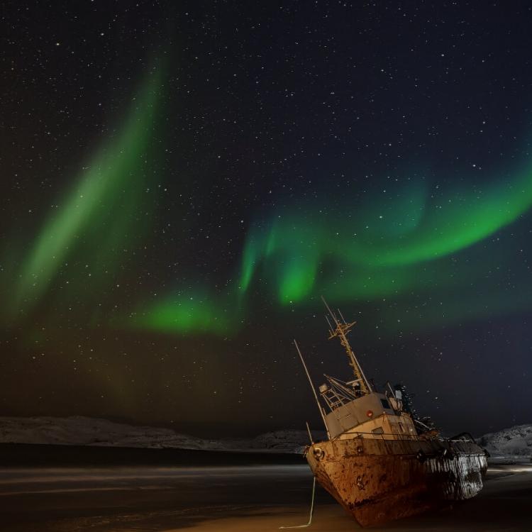 Фотопутешествие на Кольский полуостров «Поймать Аврору. Териберка»