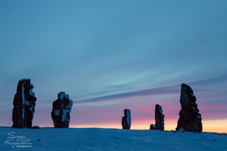 Зимняя фотоэкспедиция в Гранитные города Улахан-Сис (Якутия)